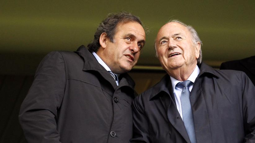 Fifa-Skandal: Platini und Blatter in London (Archivbild)