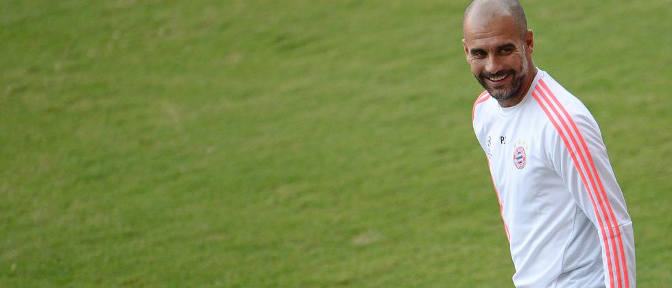 Bald wasserdicht: Pep Guardiola