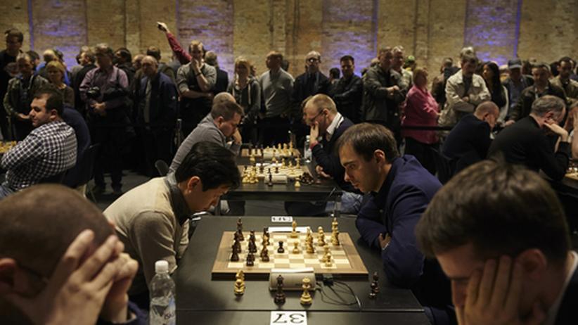 Gut besucht: Die Schnellschach-WM in Berlin