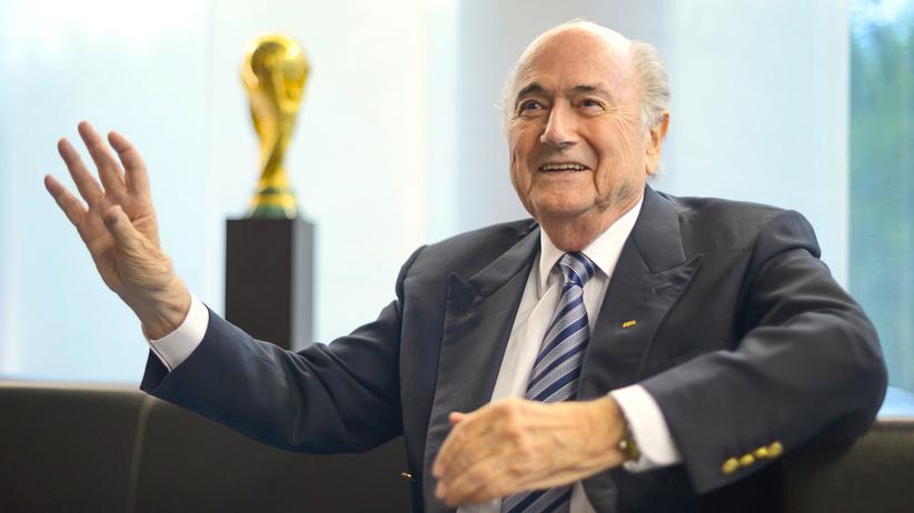 Sepp Blatter Fifa Michel Platini