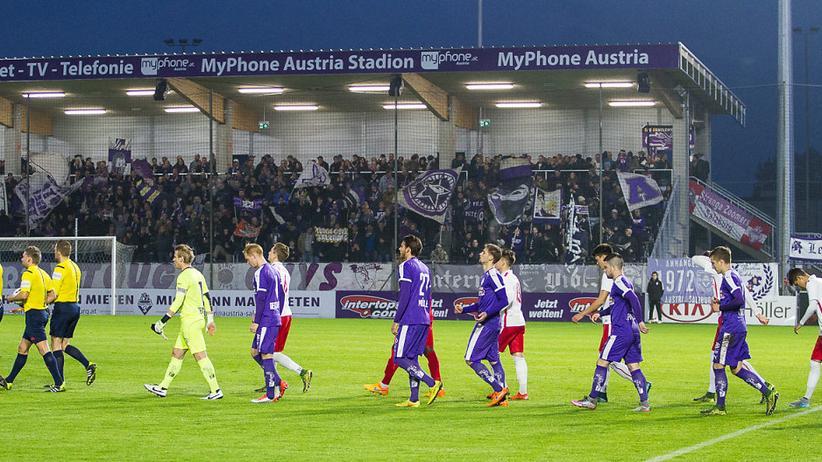 Die Austria im Heimspiel gegen den FC Liefering