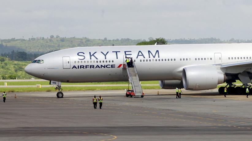 Air France: Bombenattrappe löste Fehlalarm aus