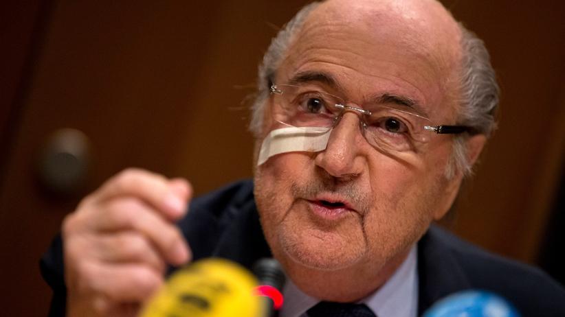 Fifa Fußball Sepp Blatter Uefa Michel Platini