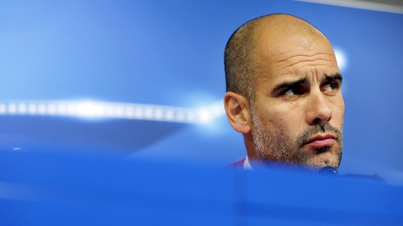 Pep Guardiola: Pep Guardiola steht vor einem Wechsel zu Manchester City.