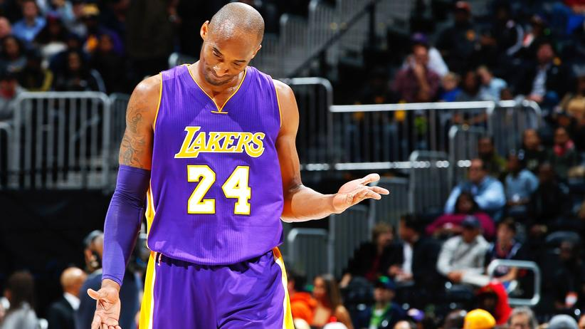 Klappt nicht mehr bei Kobe Bryant