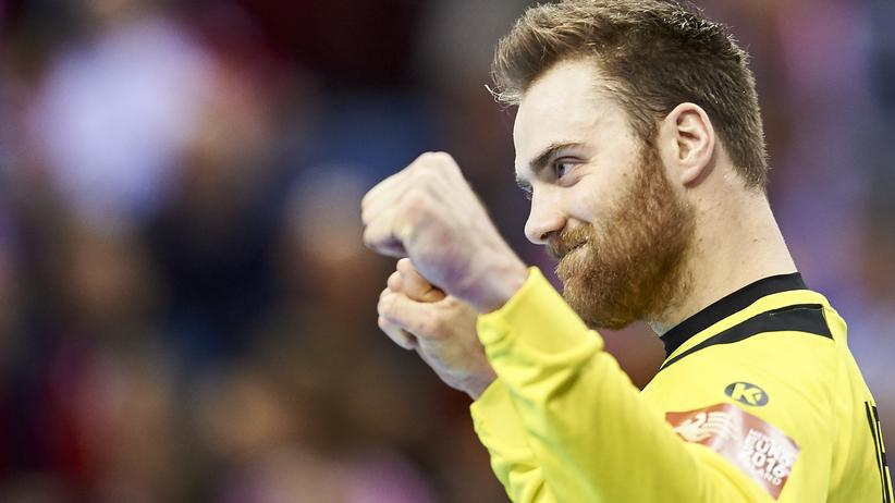 Handball Europameisterschaft Andreas Wolff Deutschland