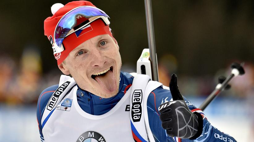 Ruhpolding: Findet Ruhpolding auch toll: Andrej Moravec aus Tschechien