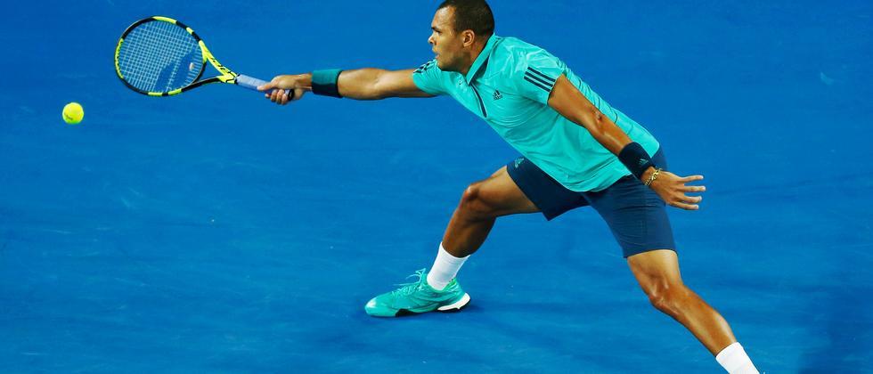 Jo-Wilfried Tsonga bei den Australian Open
