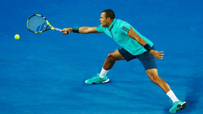 Tennis: Jo-Wilfried Tsonga bei den Australian Open