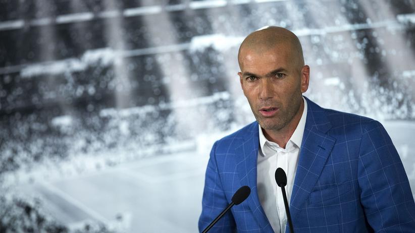 Zidane ist jetzt Übungsleiter.