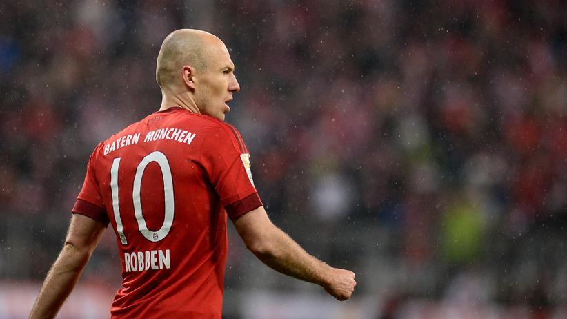 Wäre auch ein guter Kreisläufer: Arjen Robben
