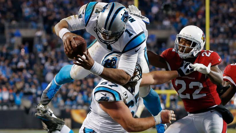 Super Bowl: I believe, I can fly, denkt sich Carolinas Cam Newton