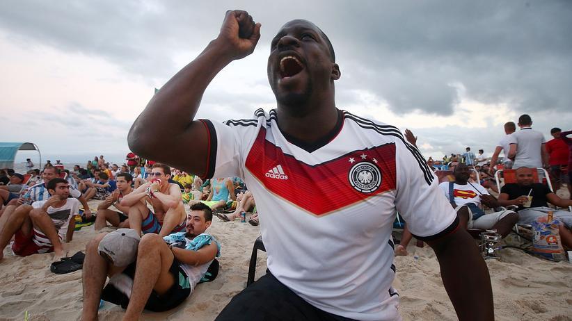 Fußball im TV: Ein Deutschland-Fan aus Rio
