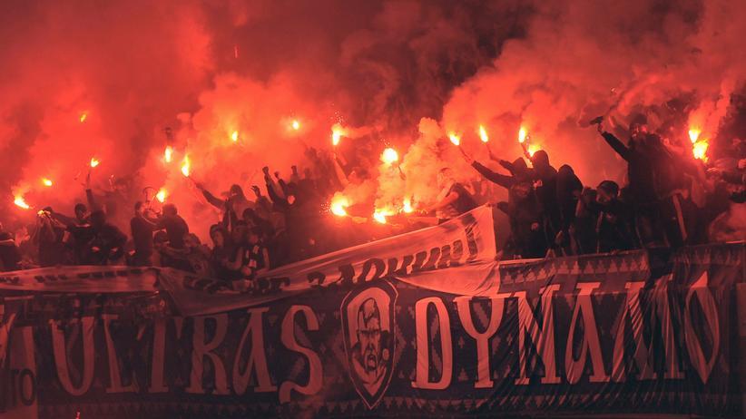 Dynamo Kiew: Die Fans von Dynamo Kiew