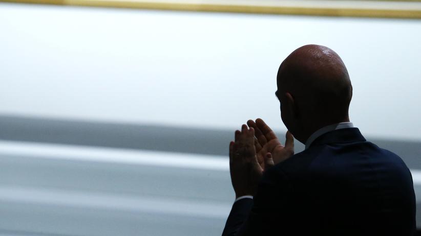 Fifa-Wahl: Der neue Fifa-Präsident Gianni Infantino