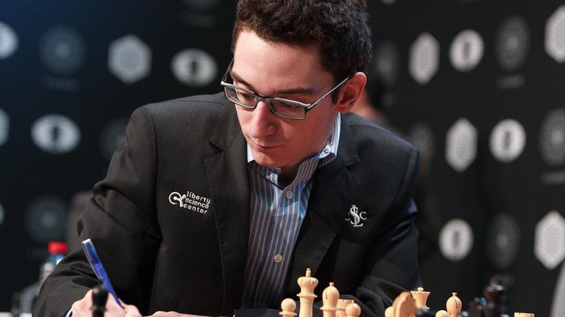 Schach: Fabiano Caruana kann sich einen wichtigen Punkt gutschreiben.