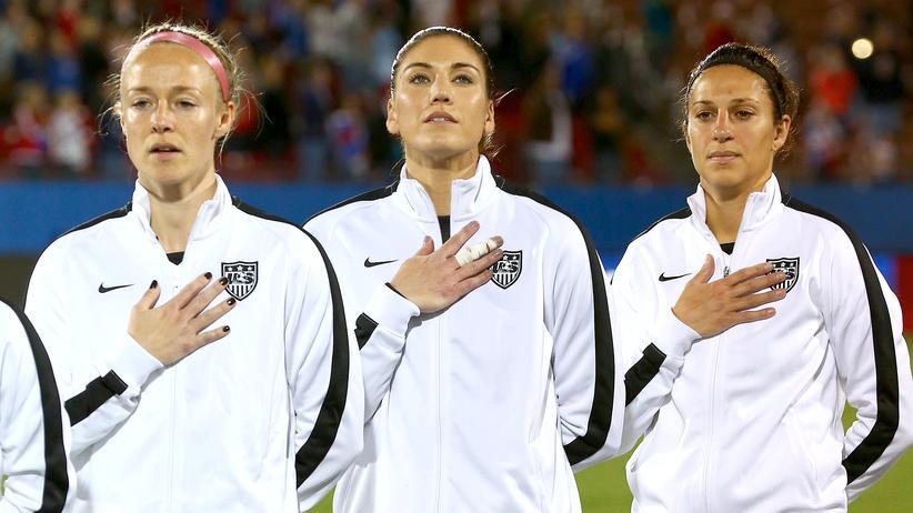 Frauenfußball Nationalmannschaft USA Hope Solo