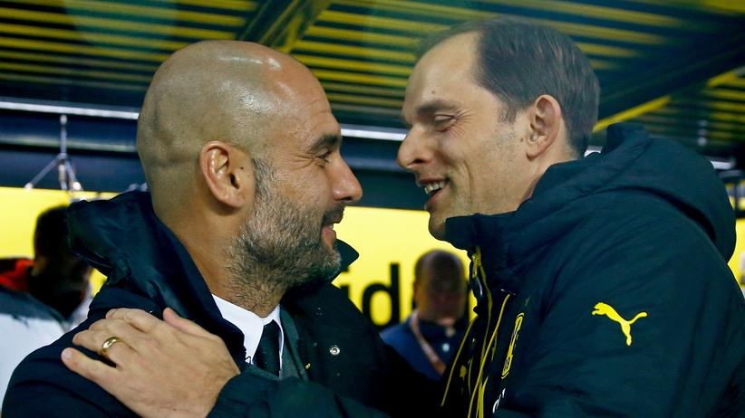 Bundesliga-Rückschau: Pep Guardiola und Thomas Tuchel