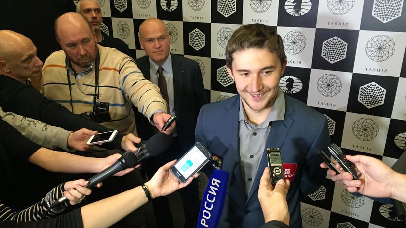 Sergej Karjakin gewinnt das Kandidatenturnier in Moskau.