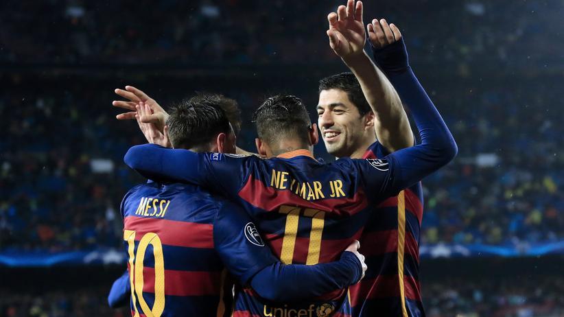 Fußball: Was für ein Trio: Messi, Suarez, Neymar
