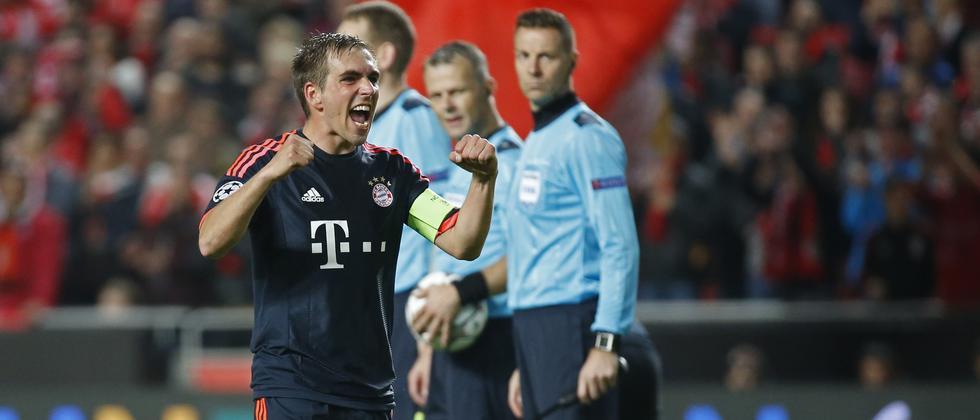 Bayern München steht im Halbfinale.