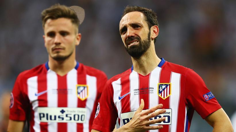 Champions-League-Finale: Verschoss einen Elfmeter und entschuldigte sich anschließend bei den Fans: Juanfran