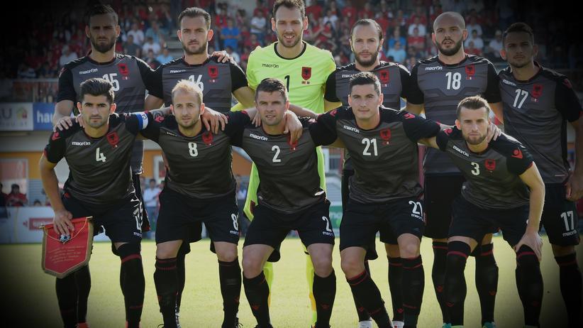 Für Albanien gilt bei der EM das olympische Motto.
