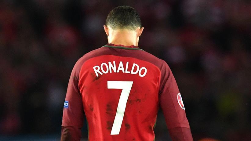 Sieh an, ein Mensch: Cristiano Ronaldo