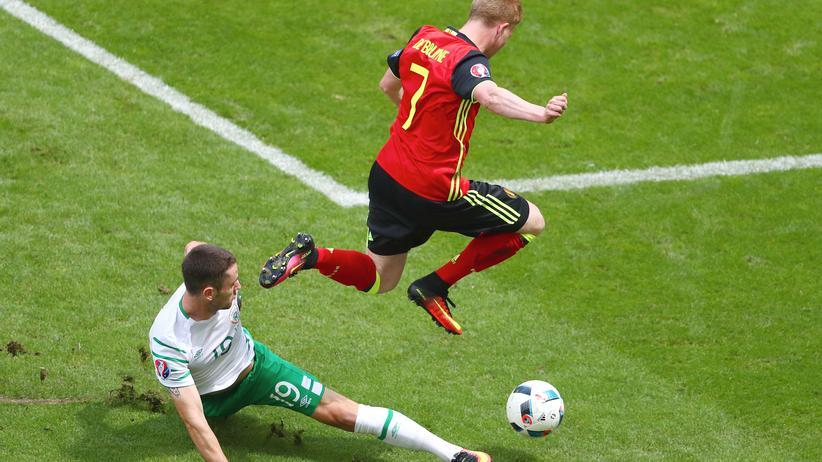 Fussball EM Irland Belgien