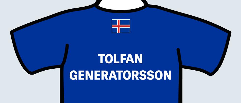 Der ZEIT ONLINE Generatorsson generiert Ihnen einen isländischen Namen.