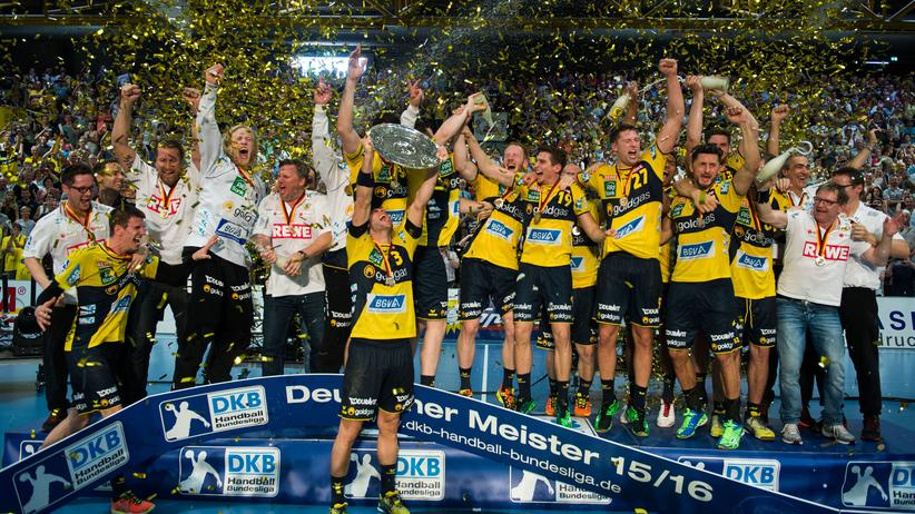 Handball: Rhein-Neckar Löwen sind erstmals deutscher Meister