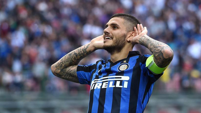 Italien: Gehört bald mehrheitlich der Suning Commerce: Inter Mailands Stürmer Mauro Icardi.
