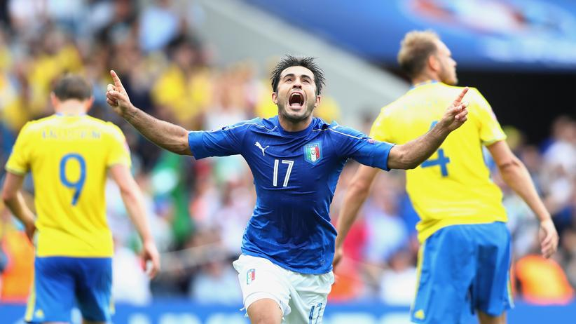 Fußball-EM: Éder schießt Italien ins Achtelfinale