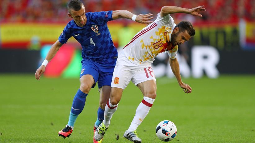 Fußball-EM: Kroatien siegt überraschend gegen Spanien