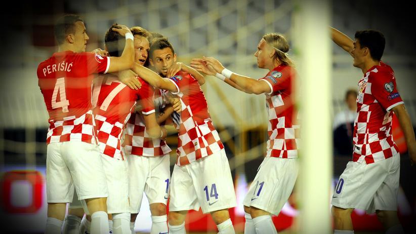 Kroatien freut sich.