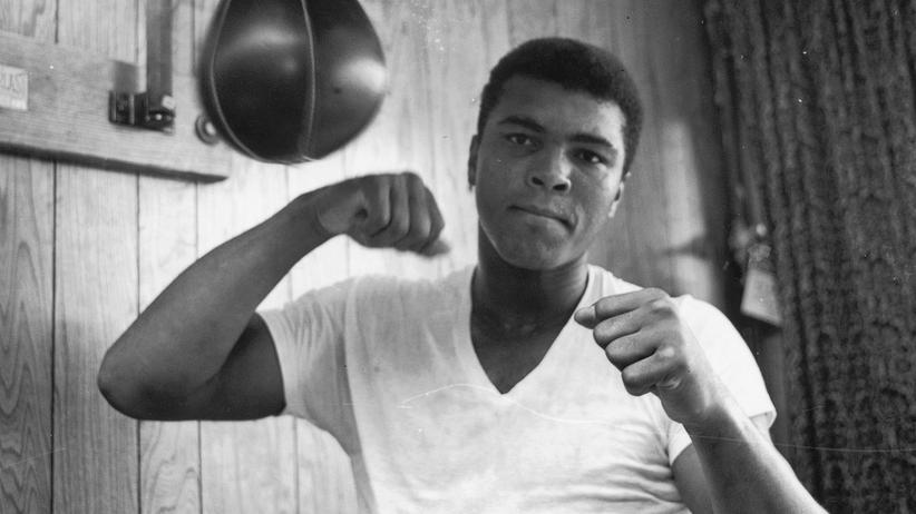 Muhammad Ali Boxer Nachruf Portrait