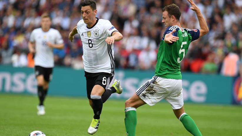 Spieler des Spiels gegen Nordirland: Mesut Özil.