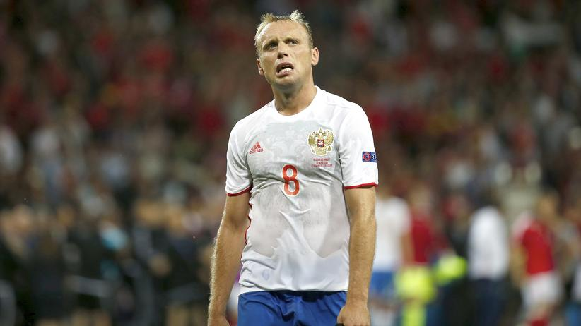 Russland verliert gegen Wales.