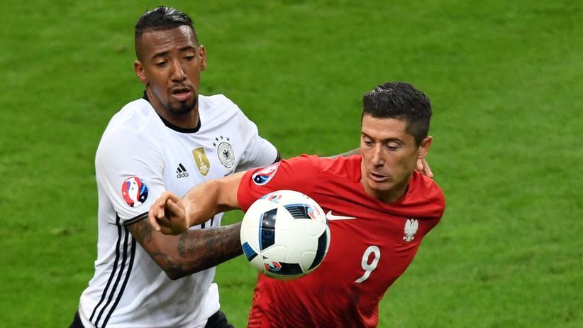 Fußball-EM Deutschland Polen Boateng