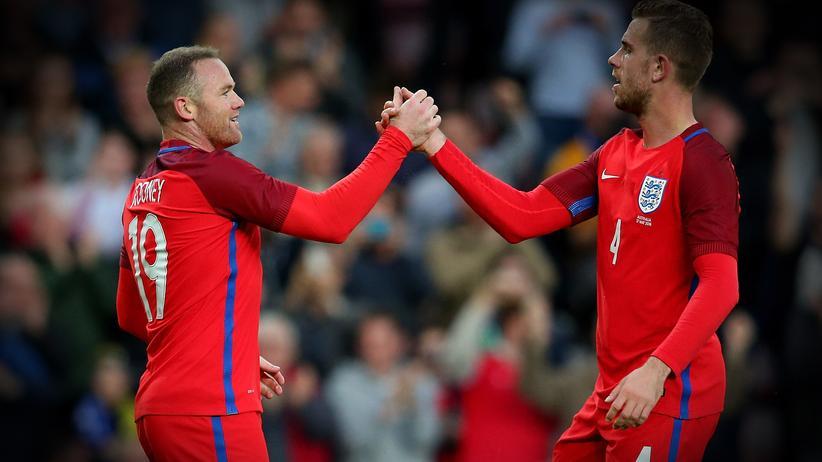 England: Schmilzt Wayne Rooney in der Sonne?