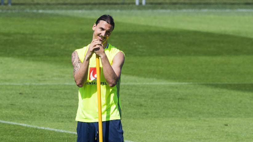 Bescheidenheit ist eine Zier, doch es geht auch …, sagt sich Zlatan Ibrahimović.