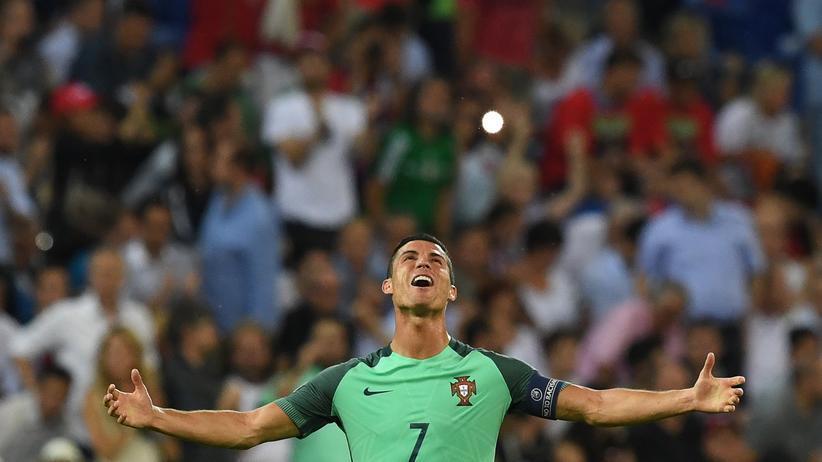 Portugal – Wales: Er kann es schon: Ronaldo