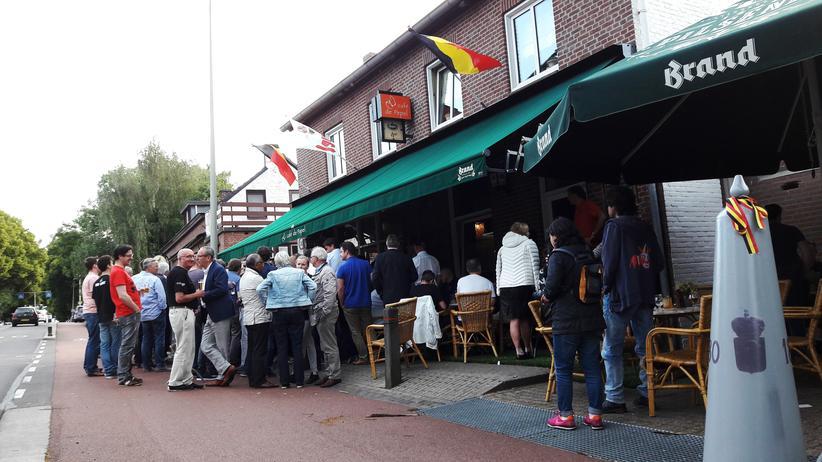 Fußball-EM: Die Niederländer, die die Grenze versetzt haben