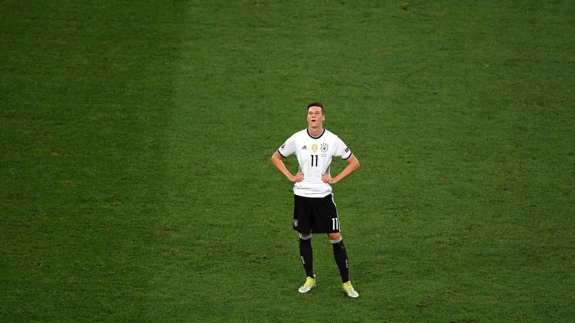 Plötzlich ganz allein: Julian Draxler