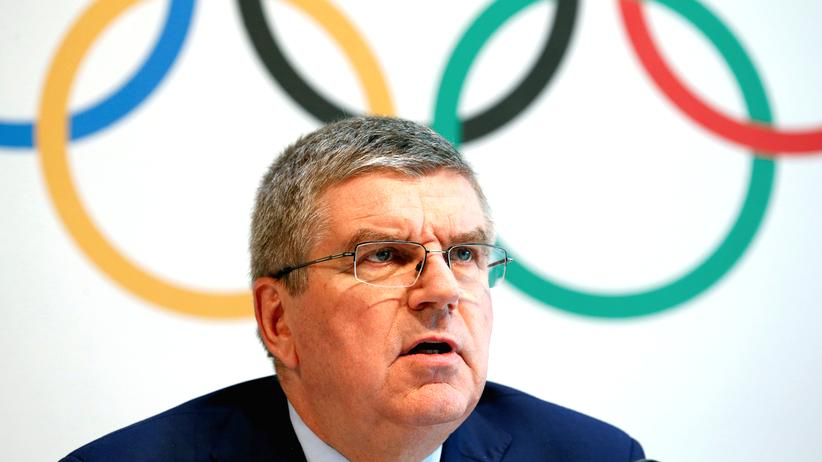 Thomas Bach IOC Robert Harting