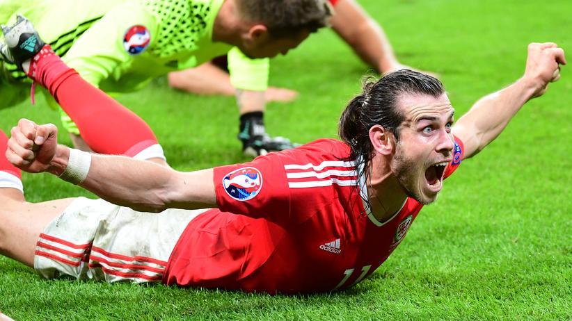 Gareth Bale Wales Portugal Halbfinale EM