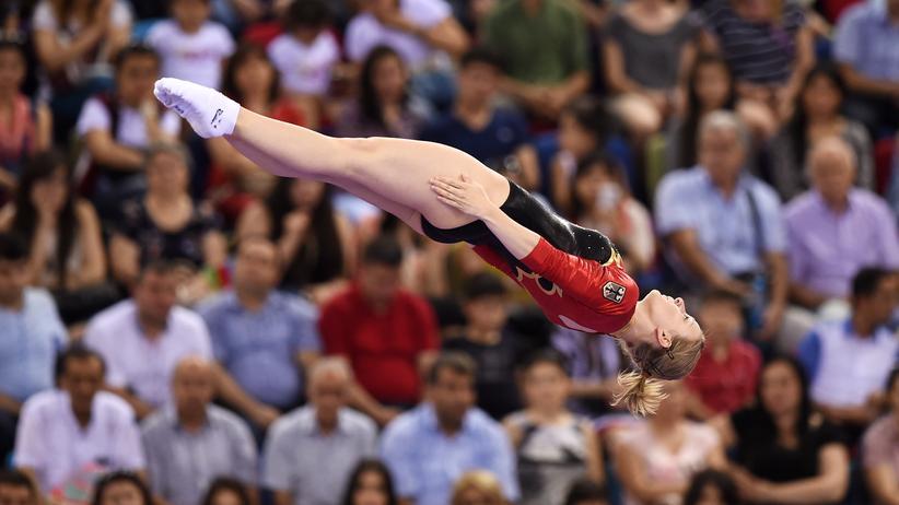 Leonie Adam startet als einzige deutsche Trampolinturnerin bei Olympia.