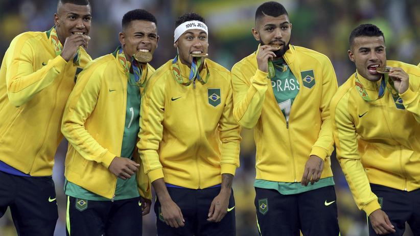 Brasilien Olympiasieger Fußball