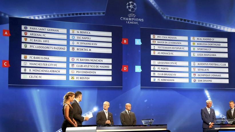 Uefa Champions League: Bayern trifft auf Atlético, Dortmund auf Real