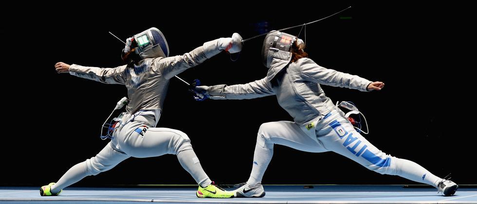 Fechten ist eine traditionsreiche Olympia-Sportart.